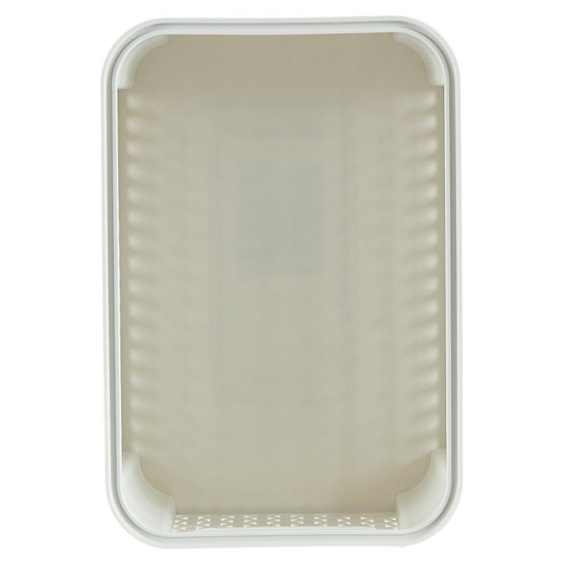 Корзинка Curver Style 28.5x19.4x13 см, пластик, цвет кремовый