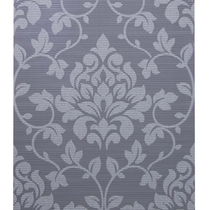 Обои на бумажной основе Дамаск 0.53х10 м цвет серый GdA 13904