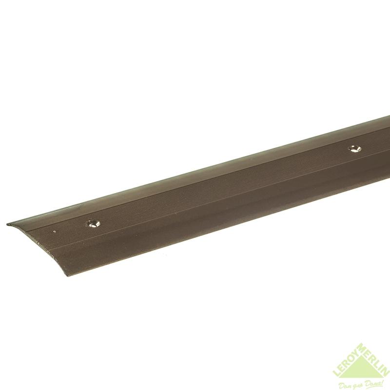 Порог алюминиевый Стык-348  медь, 1000x60 мм