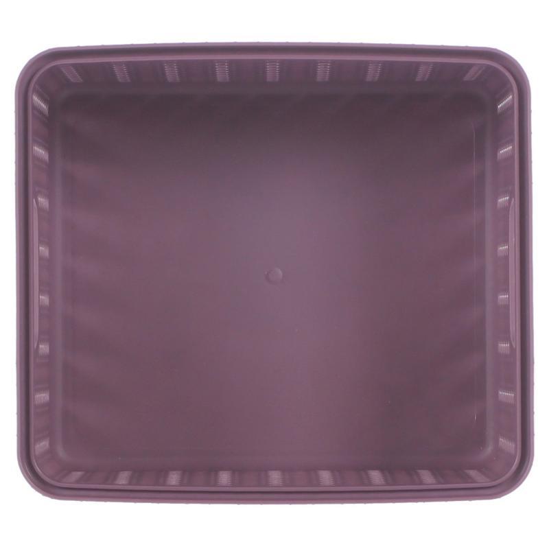 Корзина для хранения «Вязание», 1.5 л, цвет пурпурный