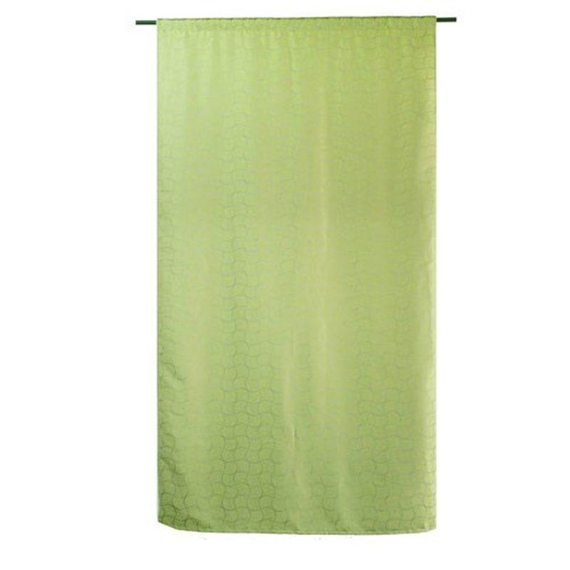 Штора на ленте «Сорренто» 200х260 см цвет зелёный