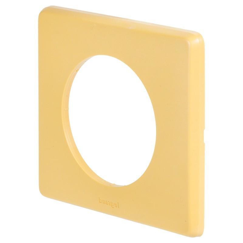 Рамка для розеток и выключателей Celiane, 1 пост, цвет шафран