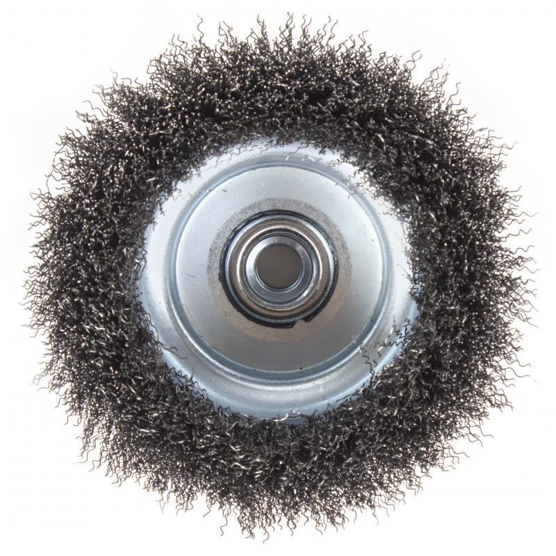 Щетка для УШМ чашечная Dexter 125 мм металлическая