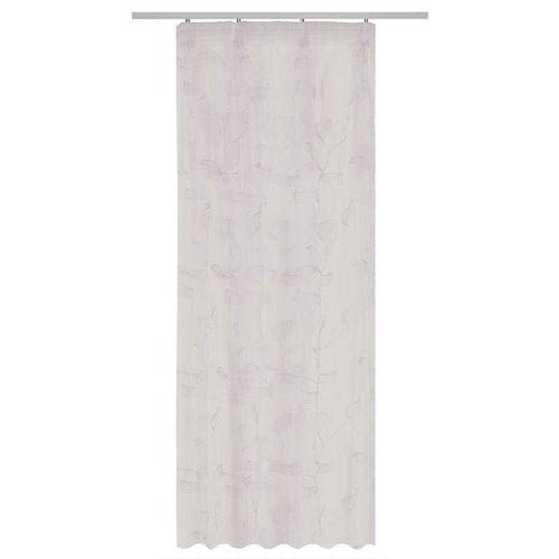Тюль на ленте «Павия» 300х260 см цвет белый