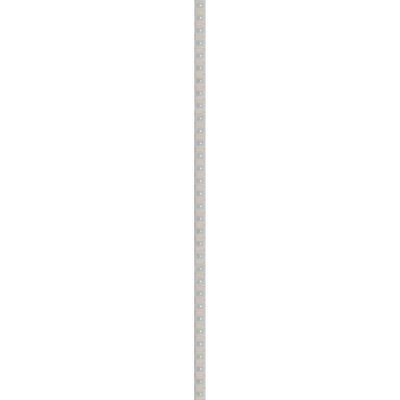 Бордюр «Бусинка» 0.7х25 см цвет белый