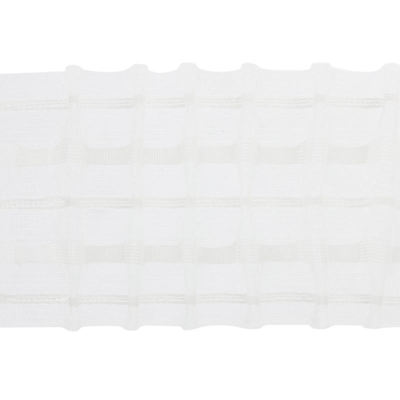 Лента шторная прозрачная 8,4 см