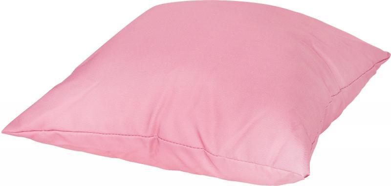 Подушка для стула, 40х40 см, габардин, цвет розовый