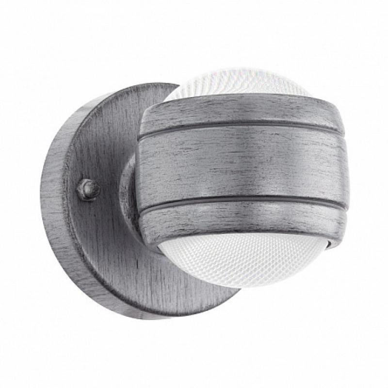 Светильник настенный светодиодный уличный Eglo «Sesimba» IP44, цвет серый