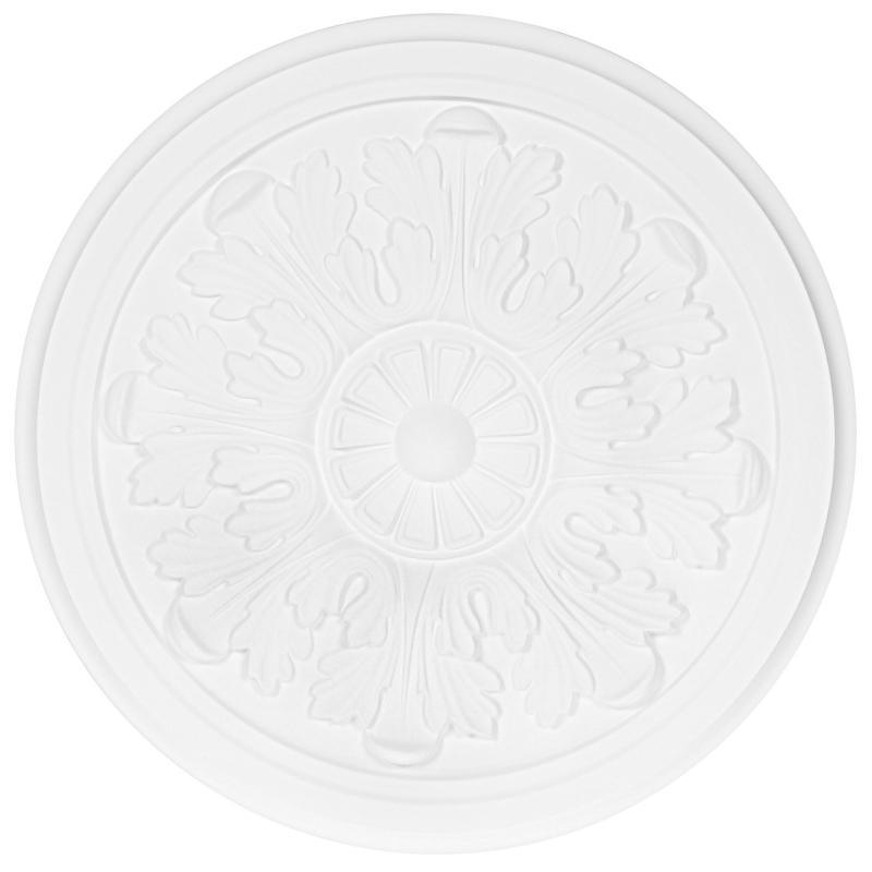 Розетка потолочная полистирол белая NMCiberica М63 32.5 см