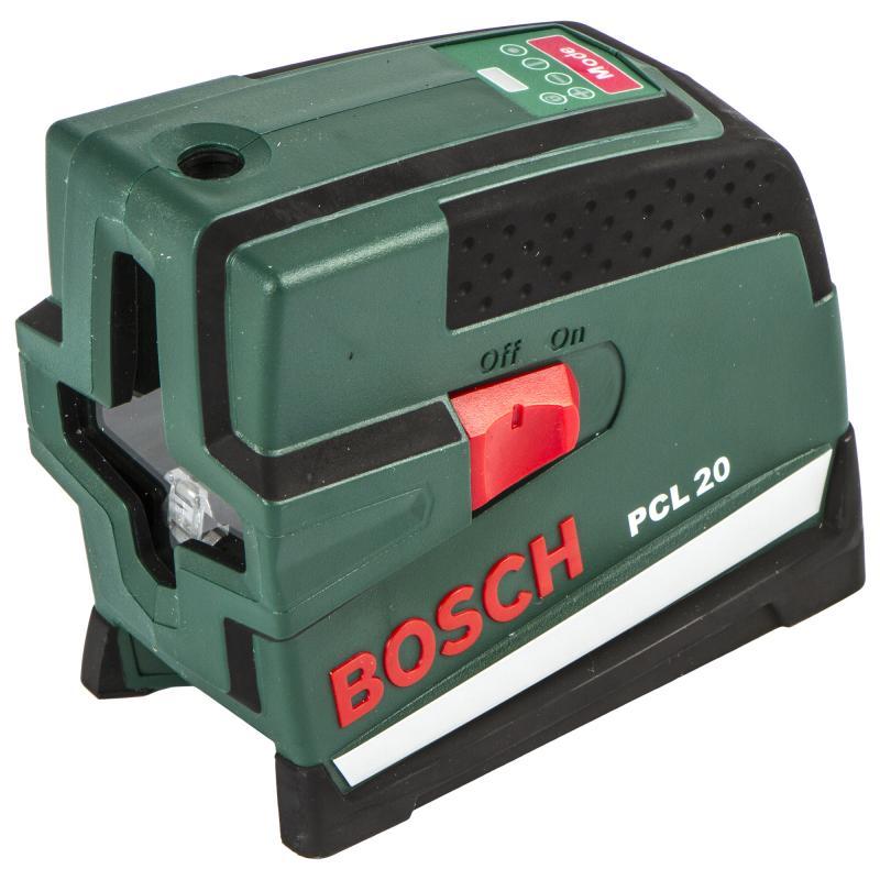 Уровень лазерный Bosch PCL20, дальность до 10 м