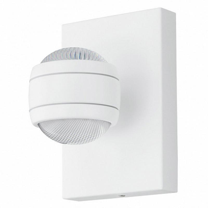 Светильник настенный светодиодный уличный Eglo «Sesimba» IP44, цвет белый