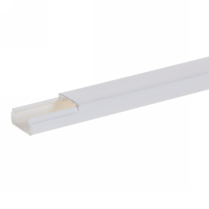 Кабель-канал Экопласт Mex 10х20 мм цвет белый, 2 м