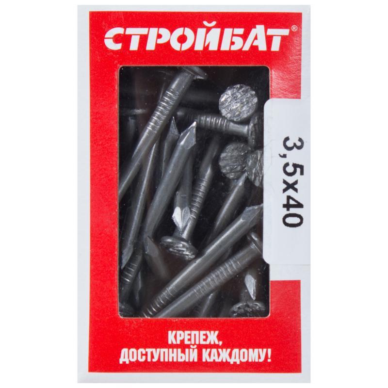 Гвозди кровельные 3.5х40 мм, 0.3 кг