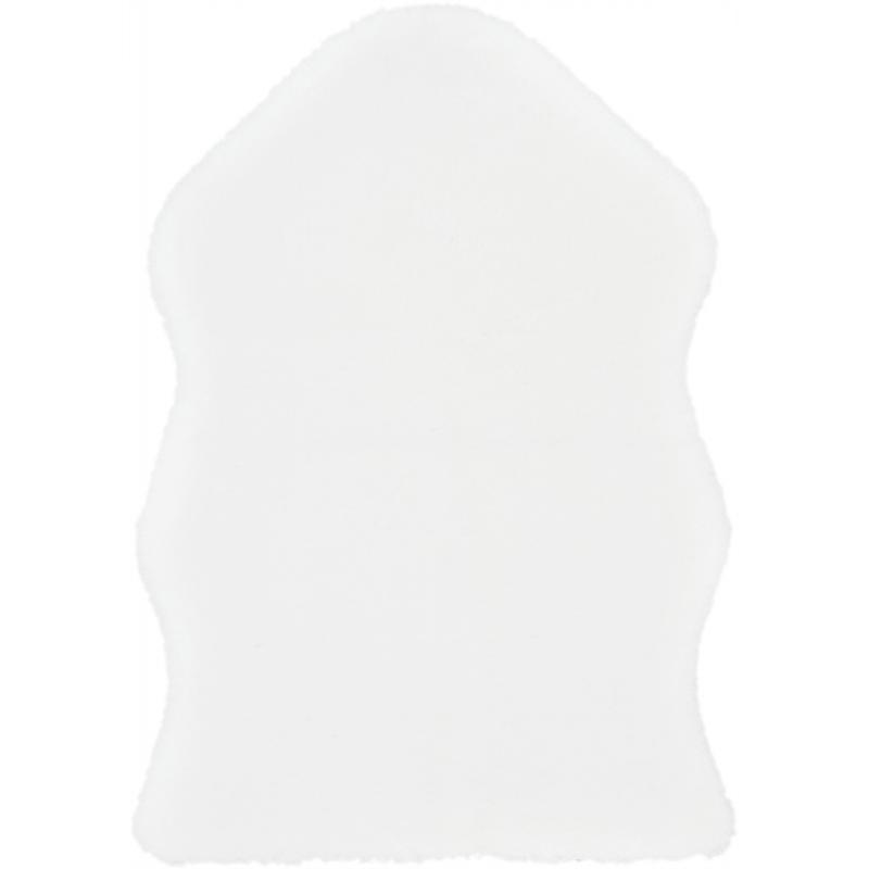 Шкура искусственная цвет белый 55х80 см