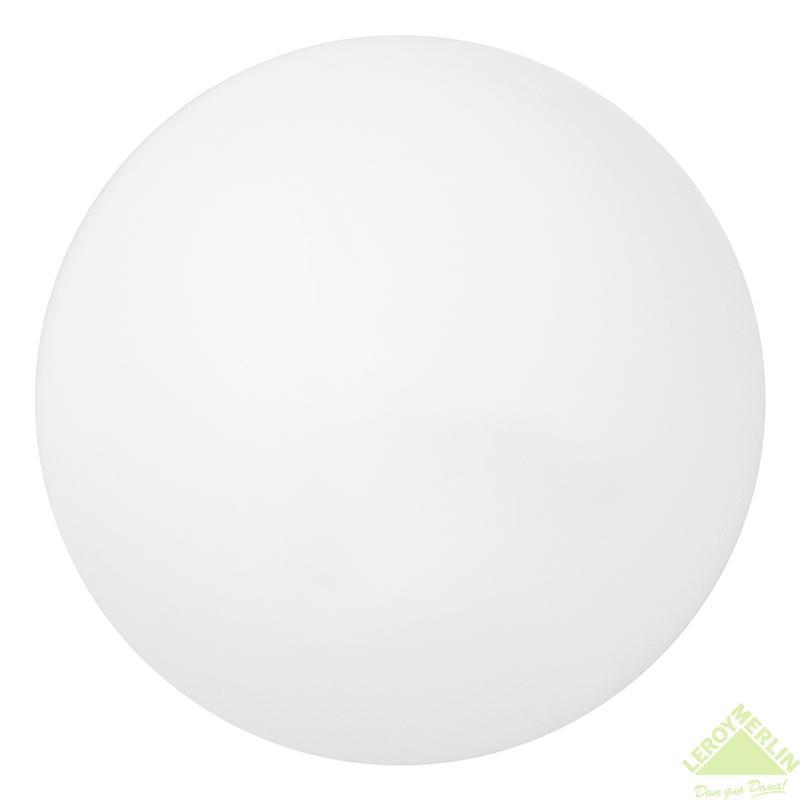 Светильник Шар 1xE27х60 Вт, IP20, металл/пластик, цвет белый