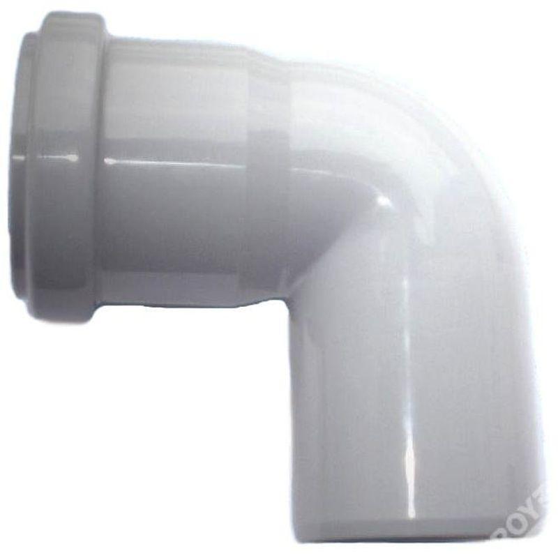 Колено Политрон, 87 градусов, 50 мм, полипропилен