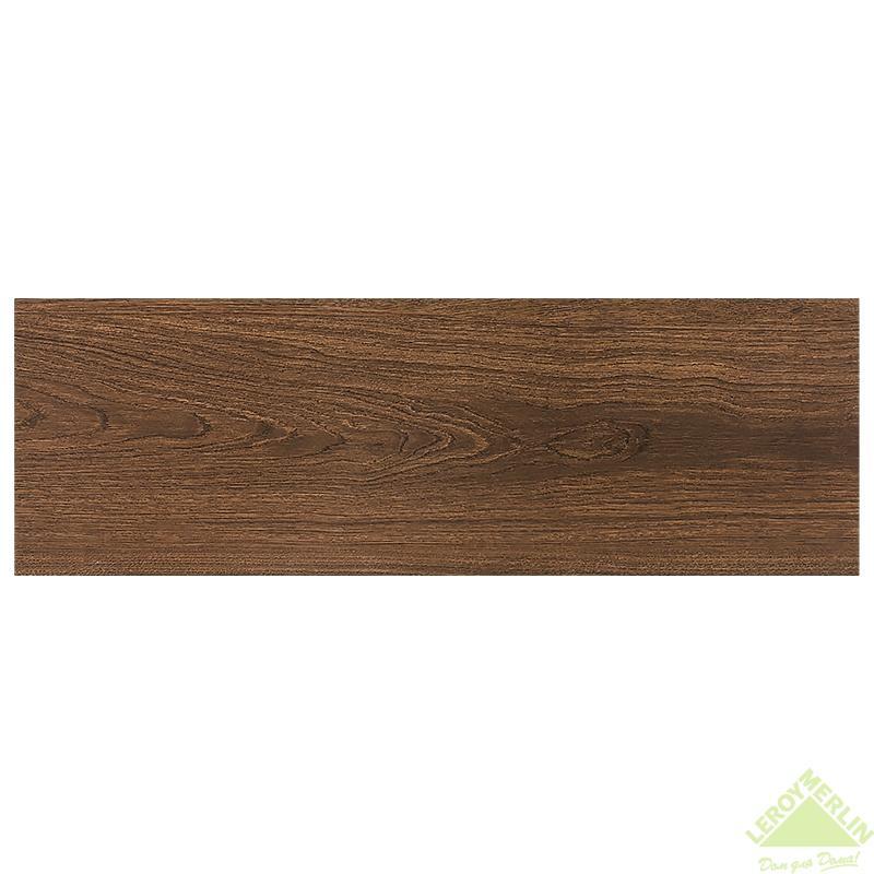 Керамогранит Форест, цвет коричневый, 20х60 см, 1,8 м2