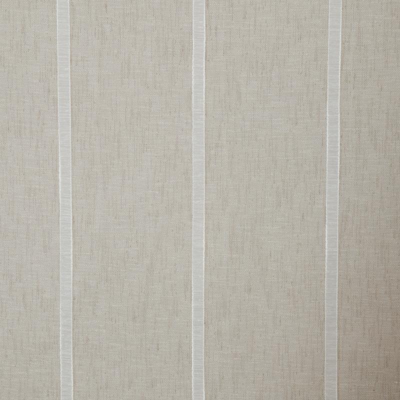 Ткань 1 п/м «Полосы», «под лён», 285 см, цвет бежевый