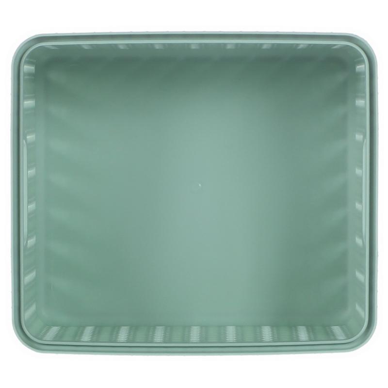 Корзина для хранения «Вязание», 1.5 л, цвет фисташковый