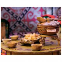 Картина без рамы «National food» 40х50 см