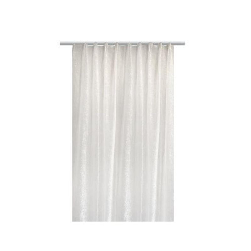 Тюль на ленте «Осида» 300х260 см цвет белый