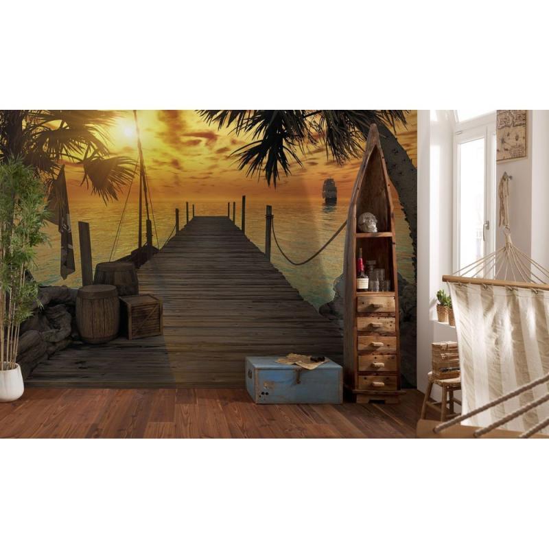 Фотопанно бумажное «Treasure Island», 368х254 см