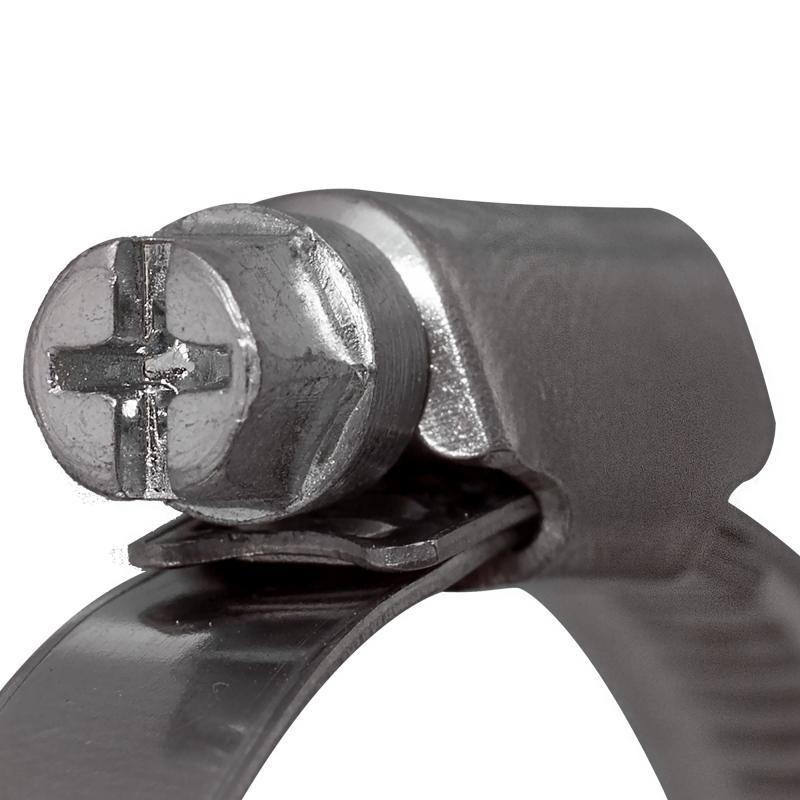 Хомут червячный W2 40-60 мм, 2 шт.