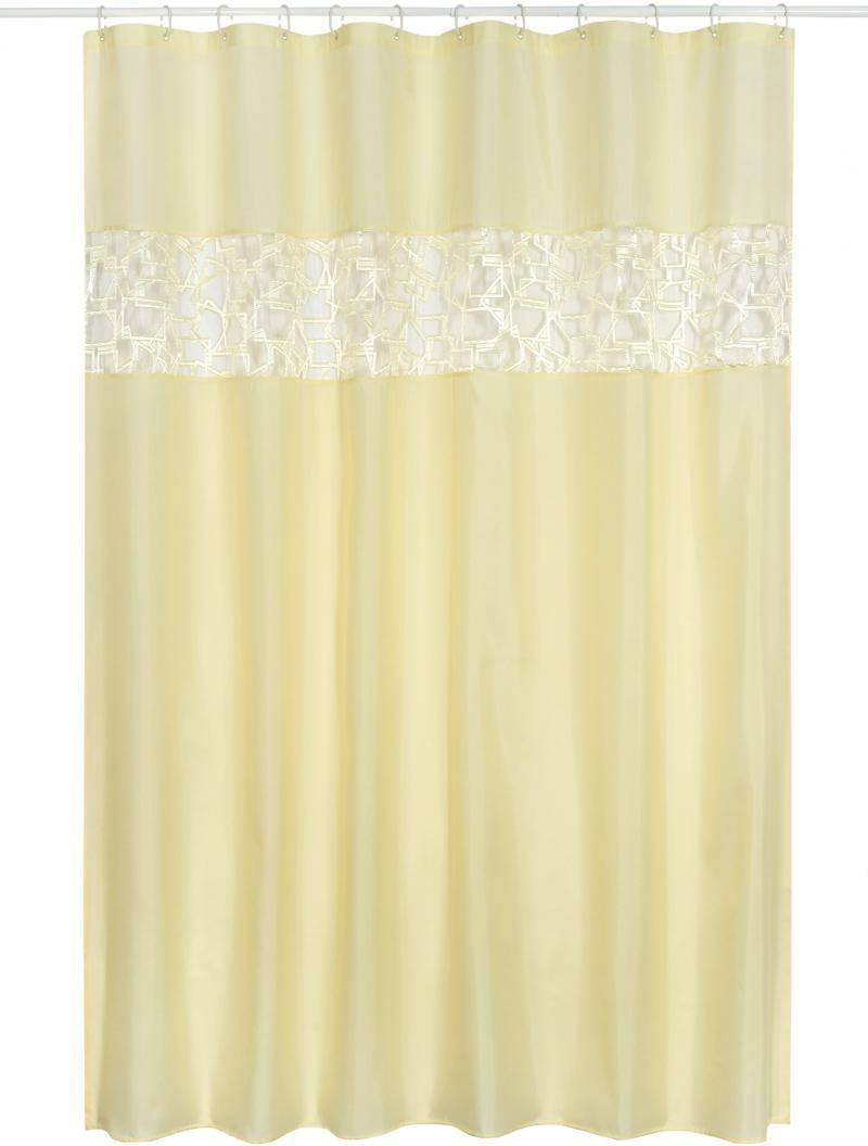 Штора для ванной комнаты «Прованс» 180х200 см цвет белый