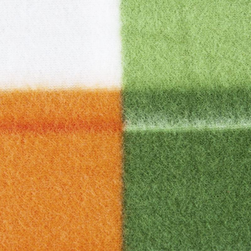 Плед «Stil» 130х170 см флис цвет оранжевый