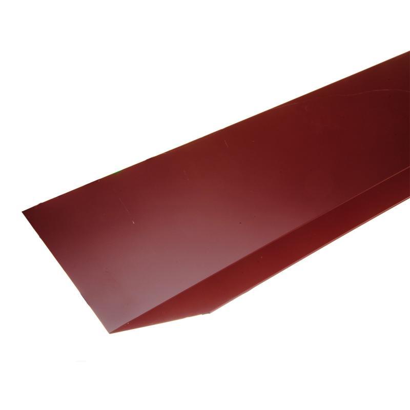 Жоғарғы жіктелуі жұқа тақтайы, материалы-полиэстер жабындылы метал, ұзындығы 2 м, түсі-қызыл