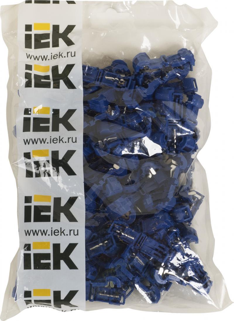 Зажим ответвитель ЗПО 1-2.5 мм2, ПВХ, цвет синий, 100 шт.