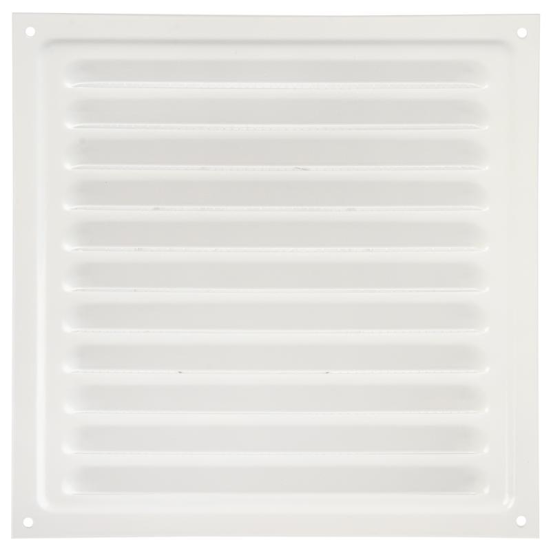 Решетка вентиляционная с сеткой Вентс МВМ 200 с, 200х200 мм, цвет белый