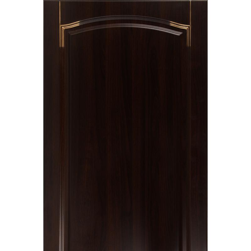 Дверь для кухонного шкафа «Византия», 60х130 см, цвет тёмно-коричневый