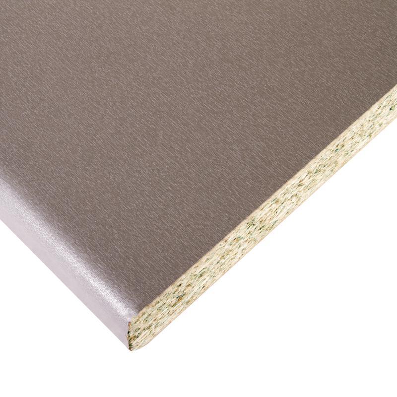 Столешница №502 305х3.8х60 см, ЛДСП, цвет титан