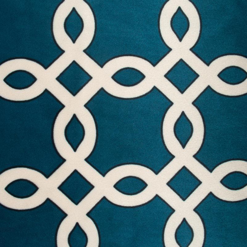 Ткань 1 п/м, велюр, 280 см, цвет синий