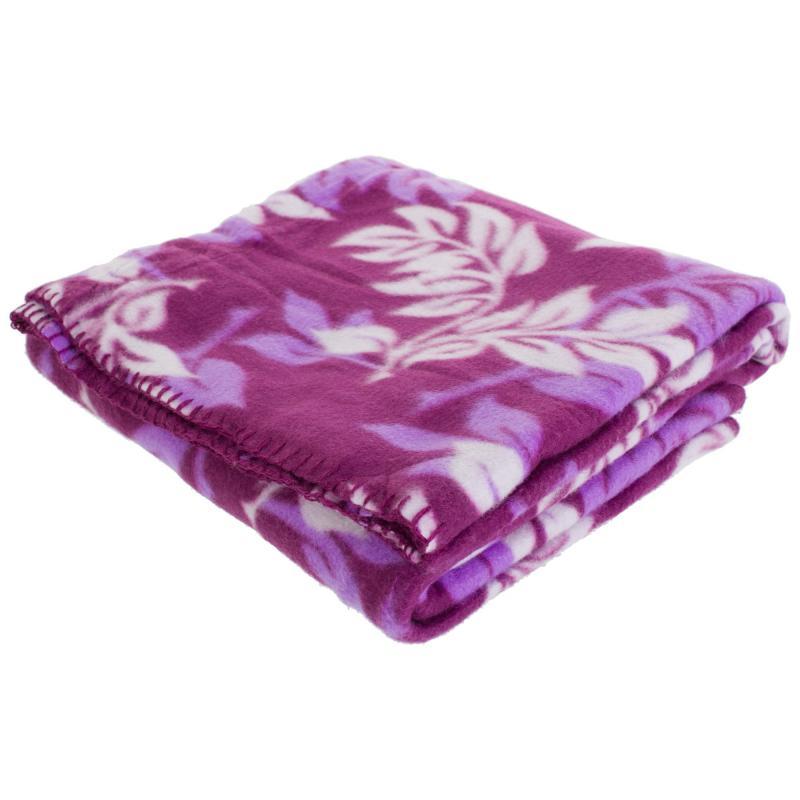 Плед «Finist» 130х170 см флис цвет фиолетовый