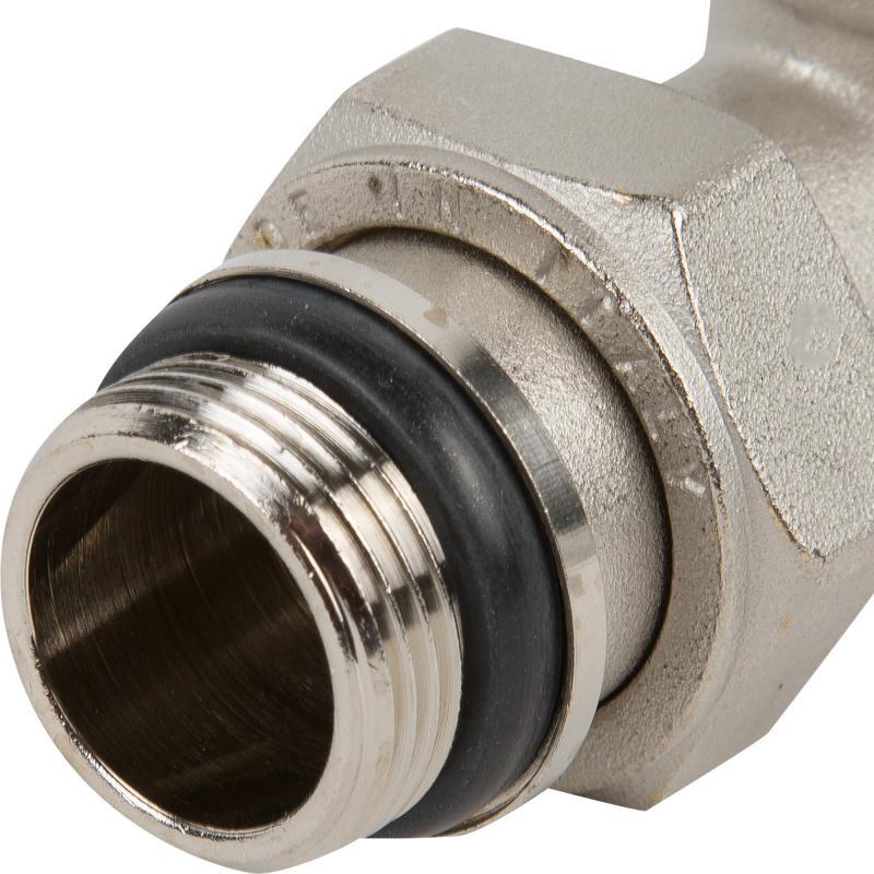 """Термостатический клапан для радиатора Heizen, прямой 3/4"""""""