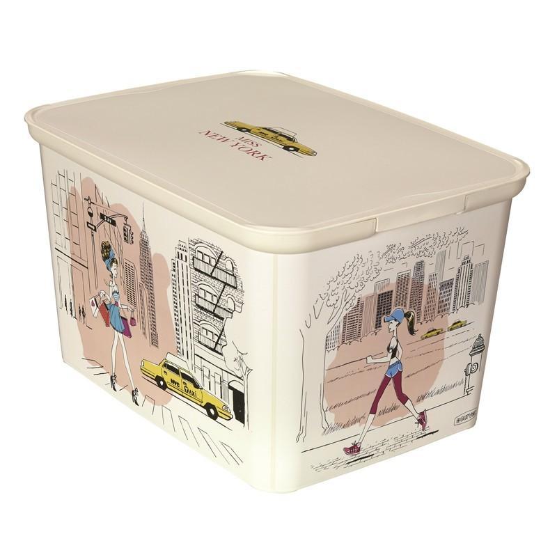 Коробка Curver Amsterdam L Нью-Йорк