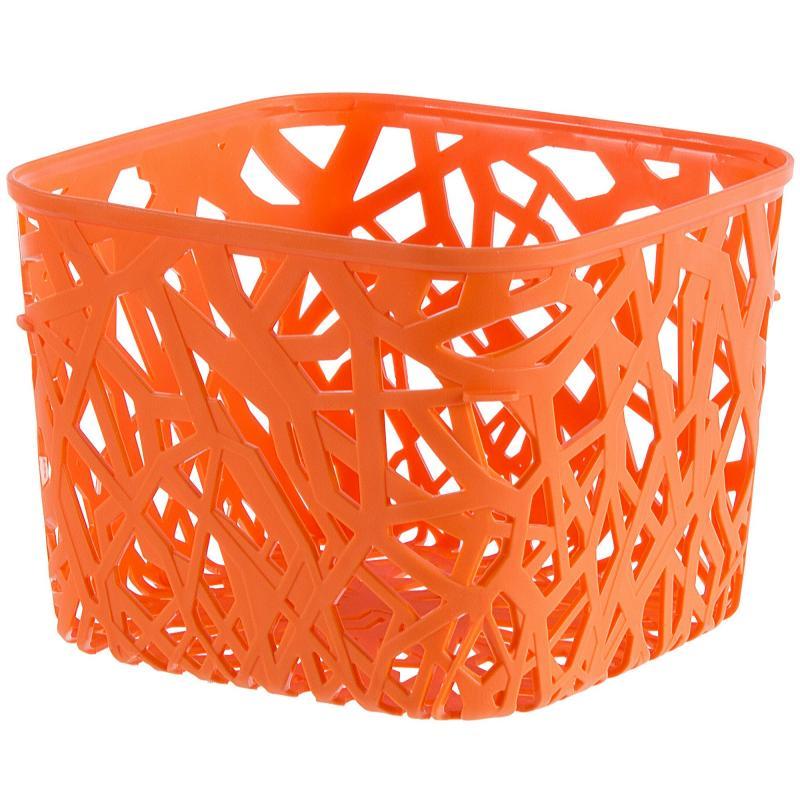 Корзинка Curver Neo квадратная пластик цвет оранжевый