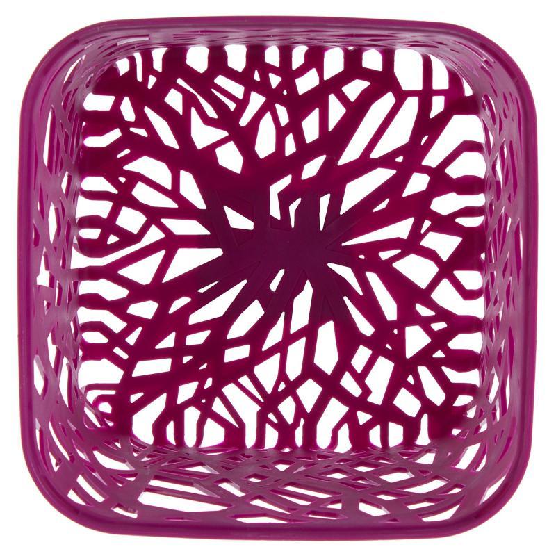 Корзинка Curver Neo квадратная, пластик, цвет розовый
