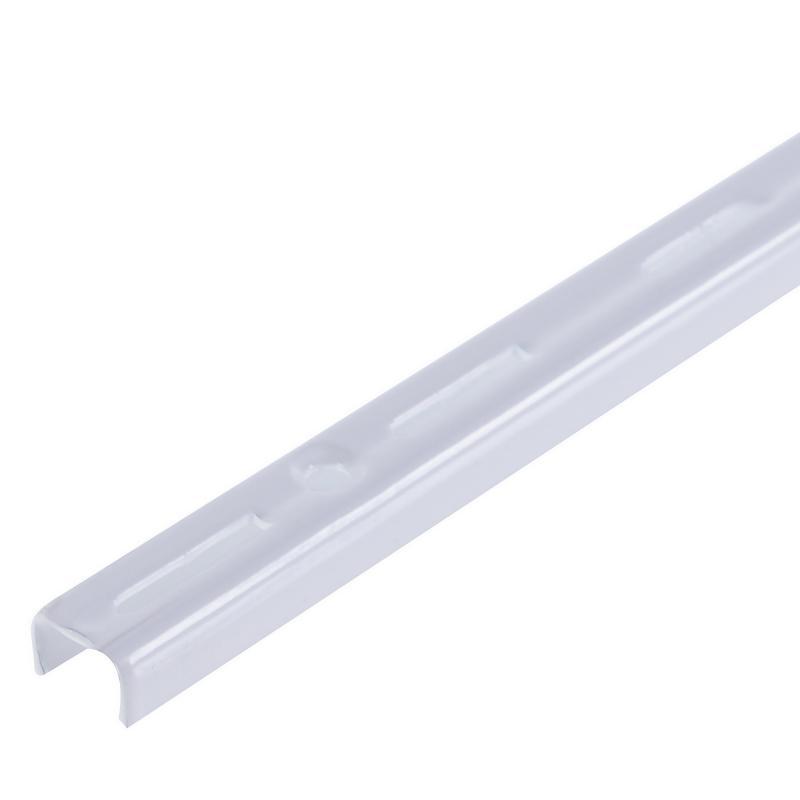 Направляющая однорядная Larvij 150 см 55 кг/20 см цвет белый
