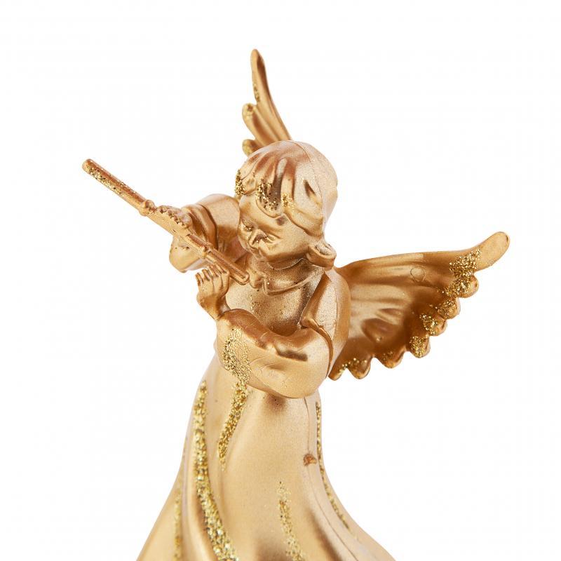 Фигурка декоративная «Ангел»,5.5 см, цвет матовое золото