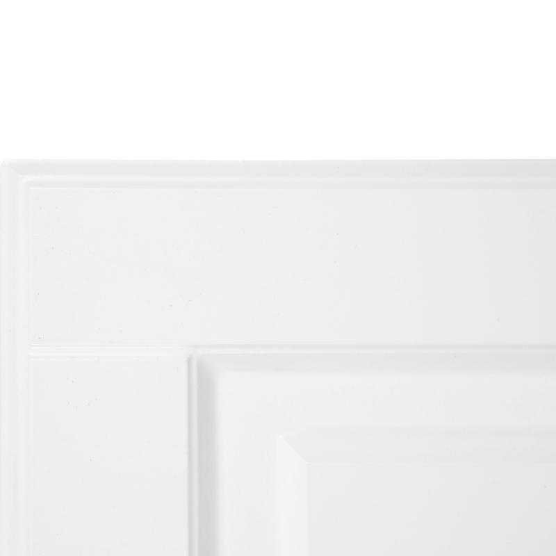 Дверь для шкафа Delinia «Леда белая» 40x70 см, МДФ, цвет белый