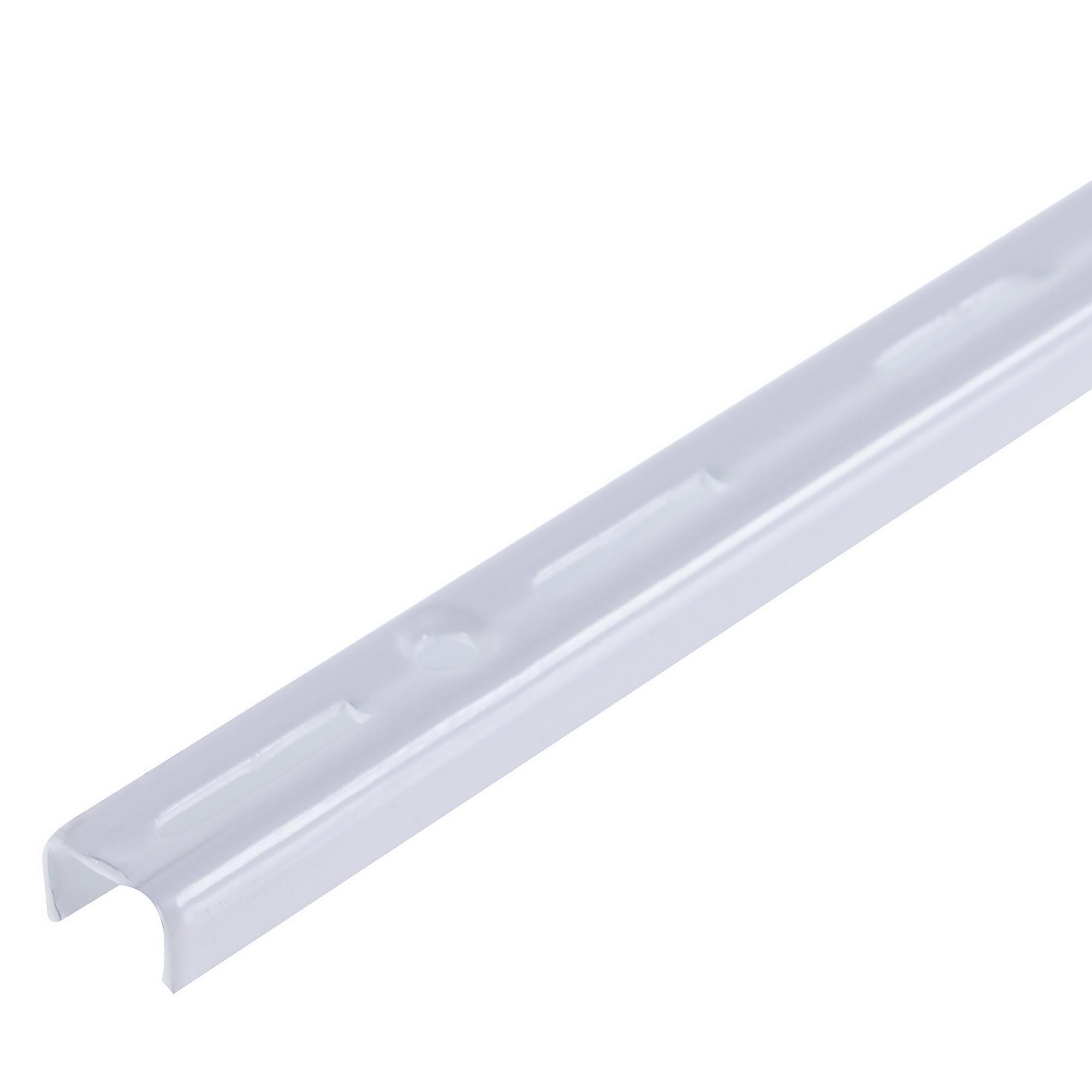 Направляющая однорядная 150 см 55 кг/20 см цвет белый