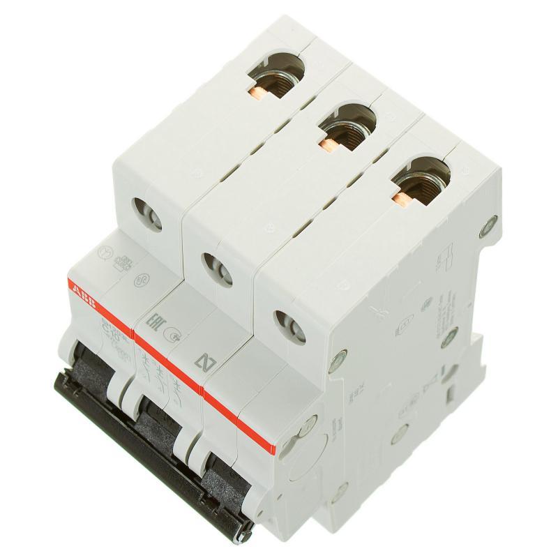 Выключатель автоматический ABB 3 полюса 10 А