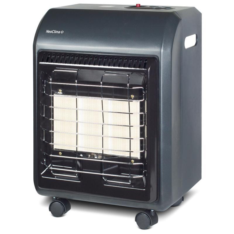 Нагреватель газовый инфракрасный UK-10 с тремя режимами, 4.2 кВт