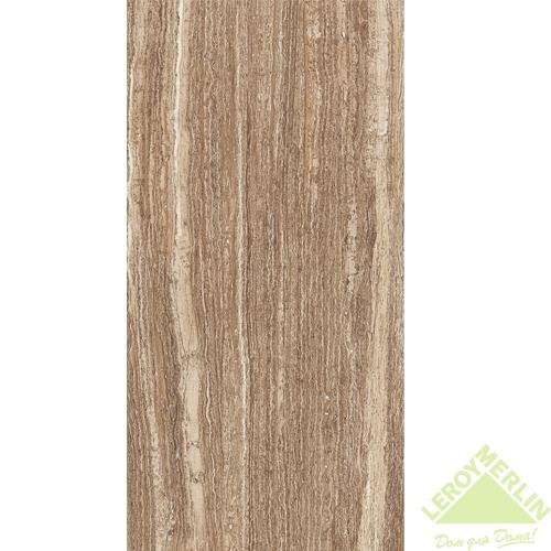 Плитка настенная Флоренция, цвет темно-коричневый, 60х30 см, 1,62 м2