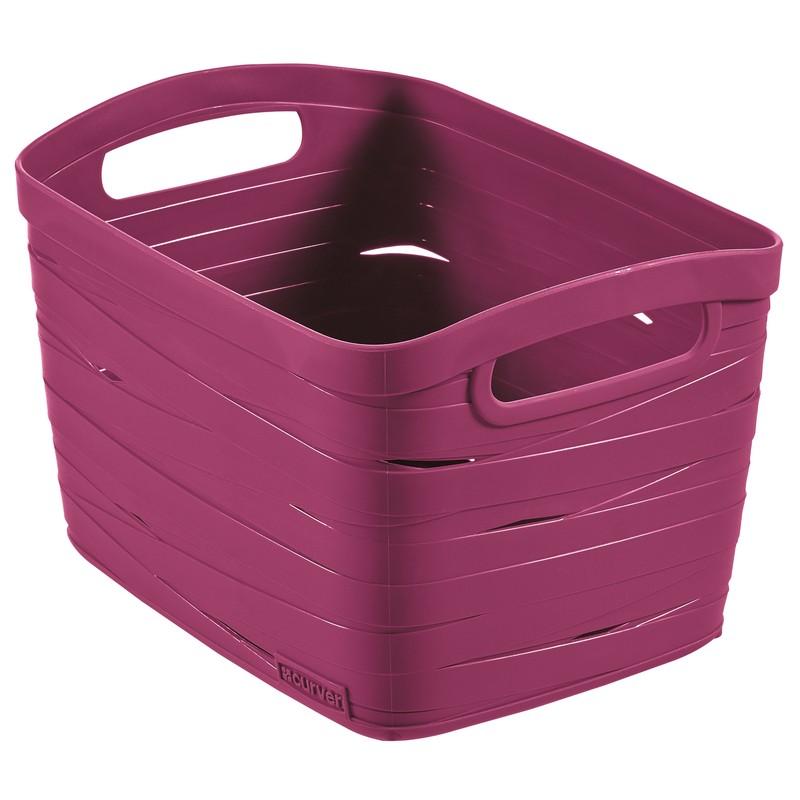Корзина Curver Ribbon фиолетовая S