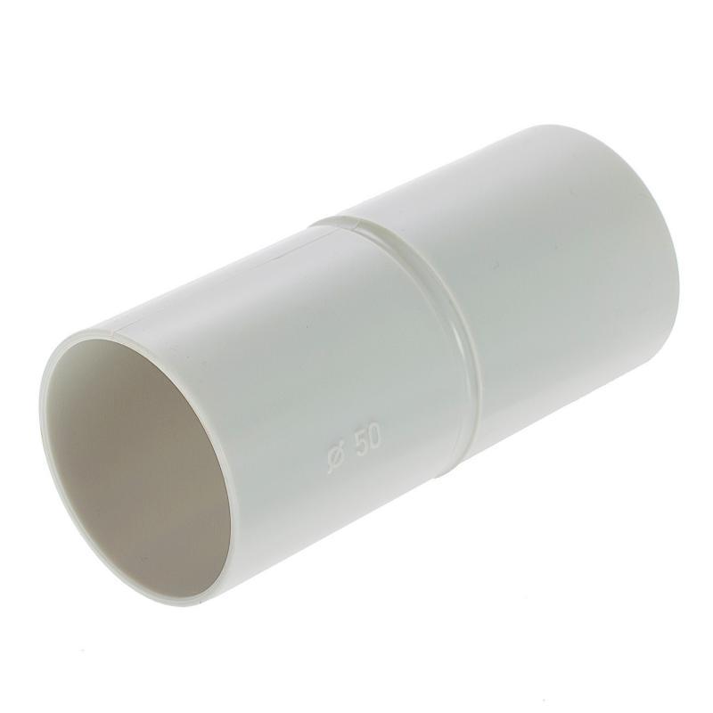Муфта для труб соединительная Экопласт D50 мм, 1 шт.