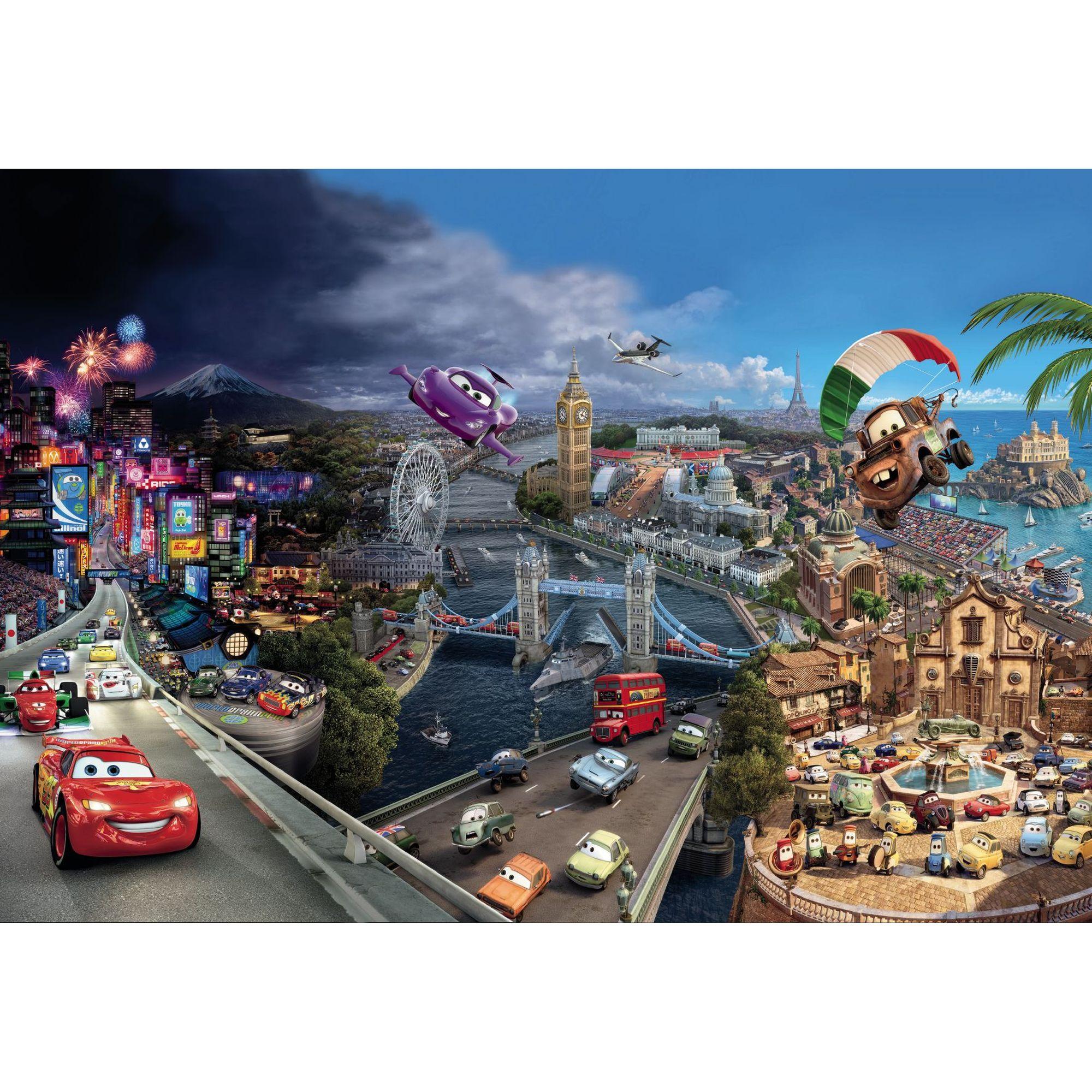 Фотопанно бумажное «Cars World» 368х254 см